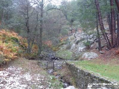 Valle de Iruelas - Pozo de nieve - Cerro de la Encinilla;senderismo ropa senderismo santiago